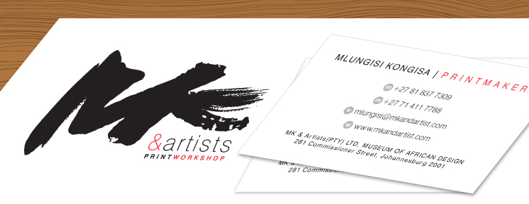 mkartists corporate identity