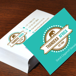 thandeka business cards
